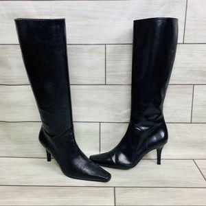 Stuart Weitzman Shoes - Stuart Weitzman Black leather tall boots